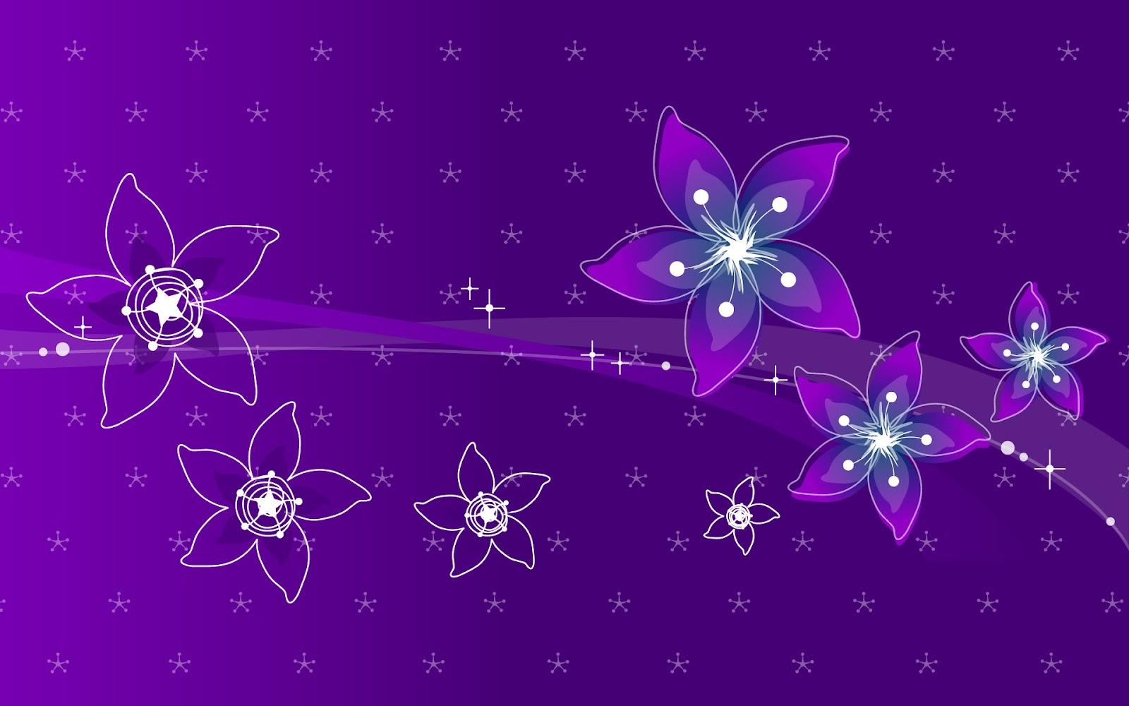 Cute Flowery Wallpaper Gambar Abstrak Bunga Abstrack
