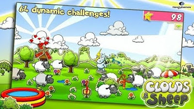 Cloud & Sheep, juego para móviles Android