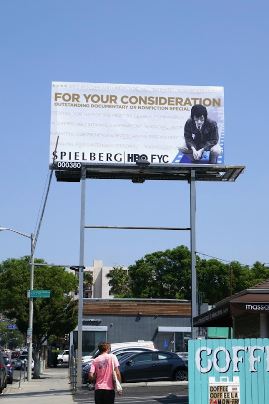 Spielberg HBO Emmy nominee billboard
