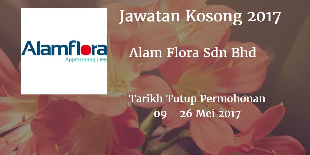 Jawatan Kosong Alam Flora Sdn Bhd 09 - 26 Mei 2017