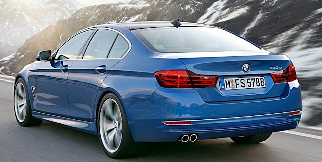 2017 BMW 5 Series Rendering