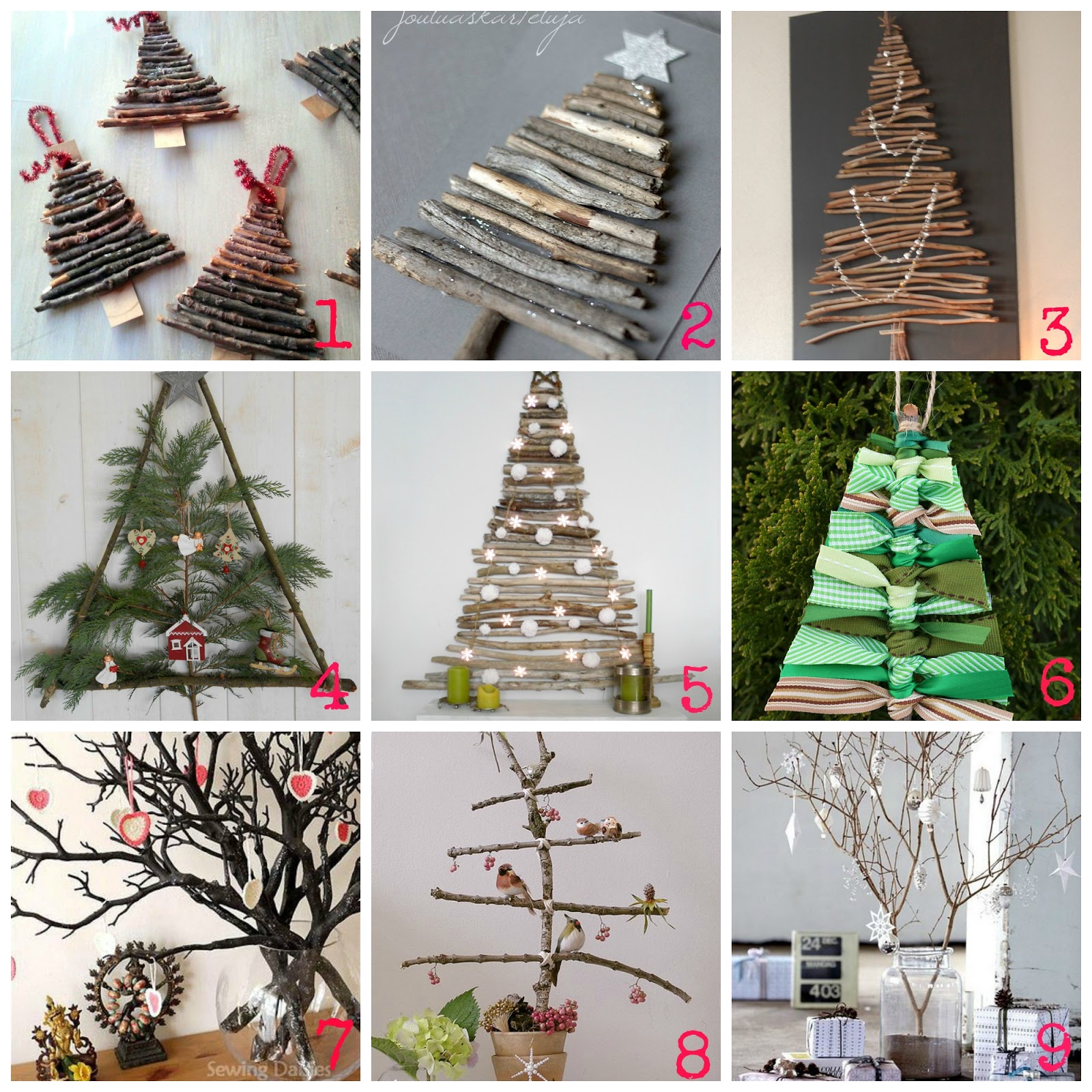 Creare Foto Di Natale.Decorazioni Di Natale Fai Da Te Con I Rami Secchi