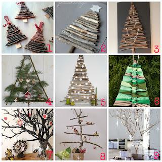 Decorazioni Di Natale Fai Da Te Con I Rami Secchi   10 Tutorial Molto  Semplici Per Creare Decorazioni Natalizie Riciclando Rami E Legnetti.