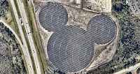 Disney World solar panels (Credit: Walt Disney World) Click to Enlarge.