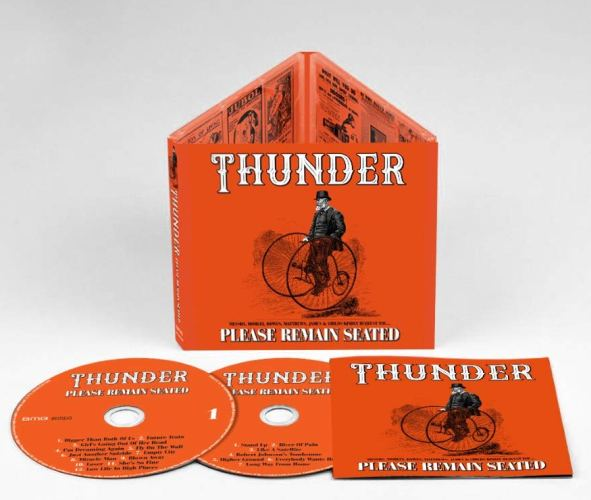THUNDER - Please Remain Seated [Deluxe Edition 2CD] (2019)  discs