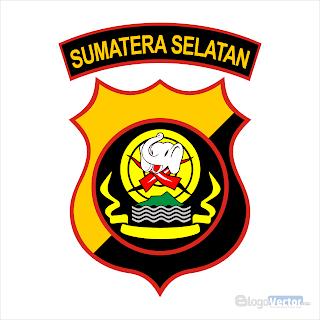 Polda Sumatra Selatan Logo vector (.cdr)