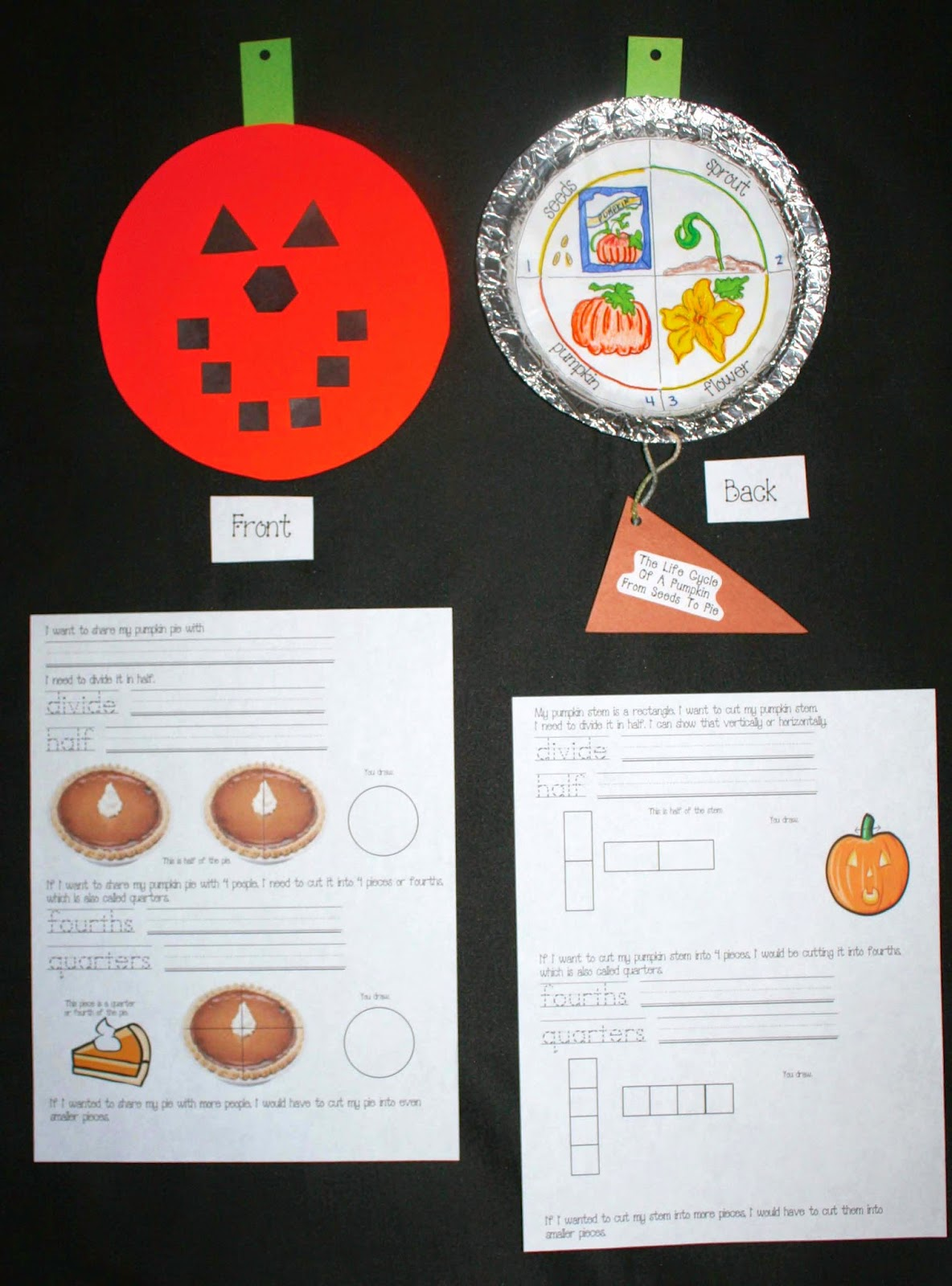 Classroom Freebies From Seeds To Pumpkin Pie