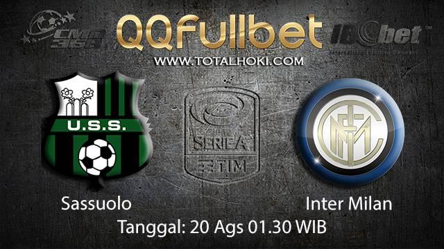 Prediksi Bola Jitu Sassuolo vs Inter Milan ( Italian Serie A )