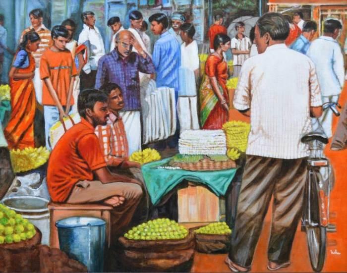 Индийские темы. Usha Shantharam