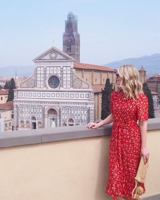 lk Bennett tea dress, Florence travel guide