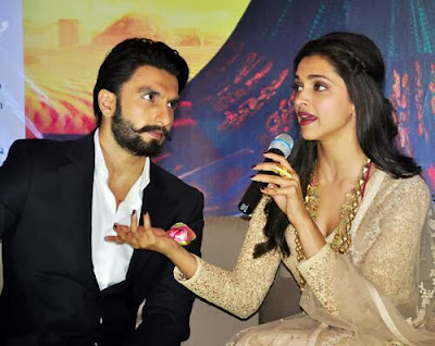 Ranveer and Deepika promote Ram-leela in Kolkata