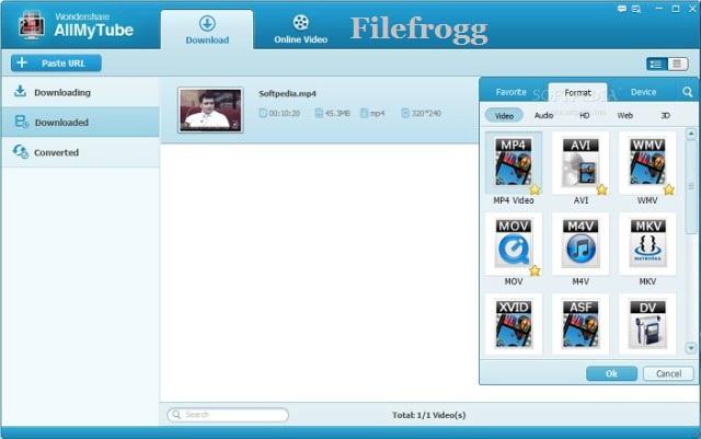 Wondershare AllMyTube Full Registration Code