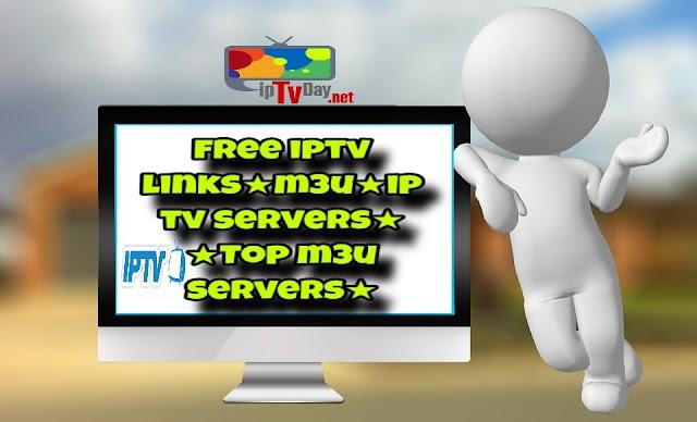 GET FREE IPTV LINKS M3U PLAYLIST 04-08-2018  ★Daily Update 24/7★