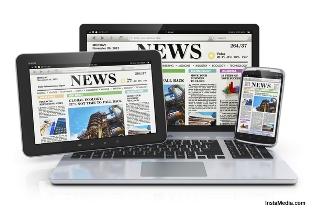jumlah media massa online di Indonesia mencapai  Jumlah Media di Indonesia 43.400, yang Terdaftar 234 Media