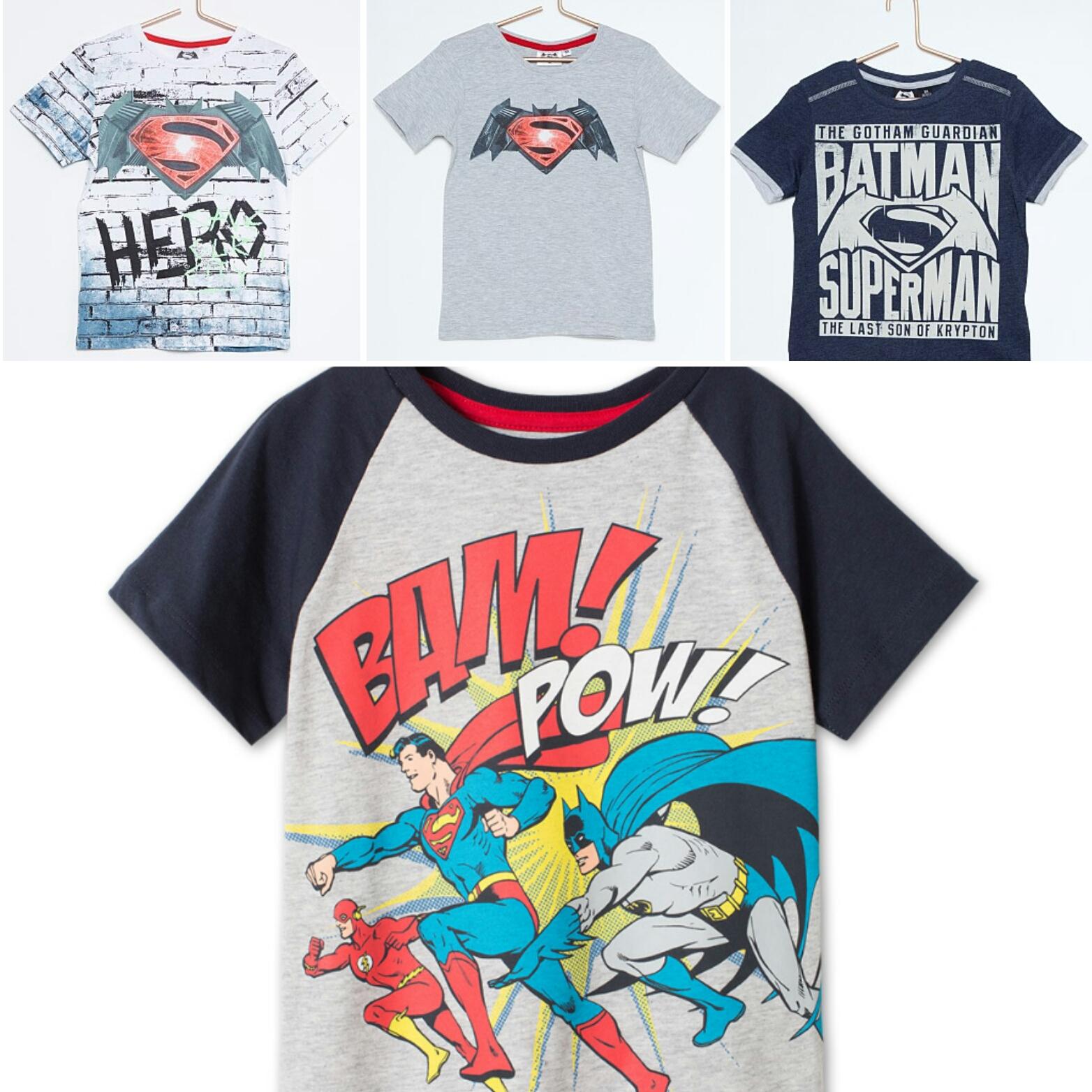 f6041ed23 Camisetas Héroes en Kiabi y C A.