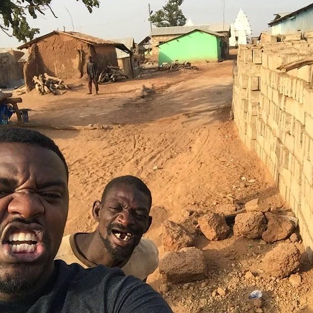 john dumelo tour ghana