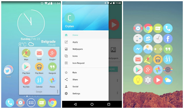 Cryten Icon Pack Apk free downlaod