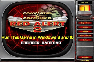 Install Red Alert 2 On windows 8 and 10, red alert 2