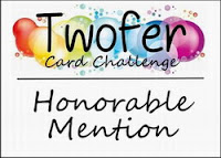 Twofer Card Challenge #15 April 2019