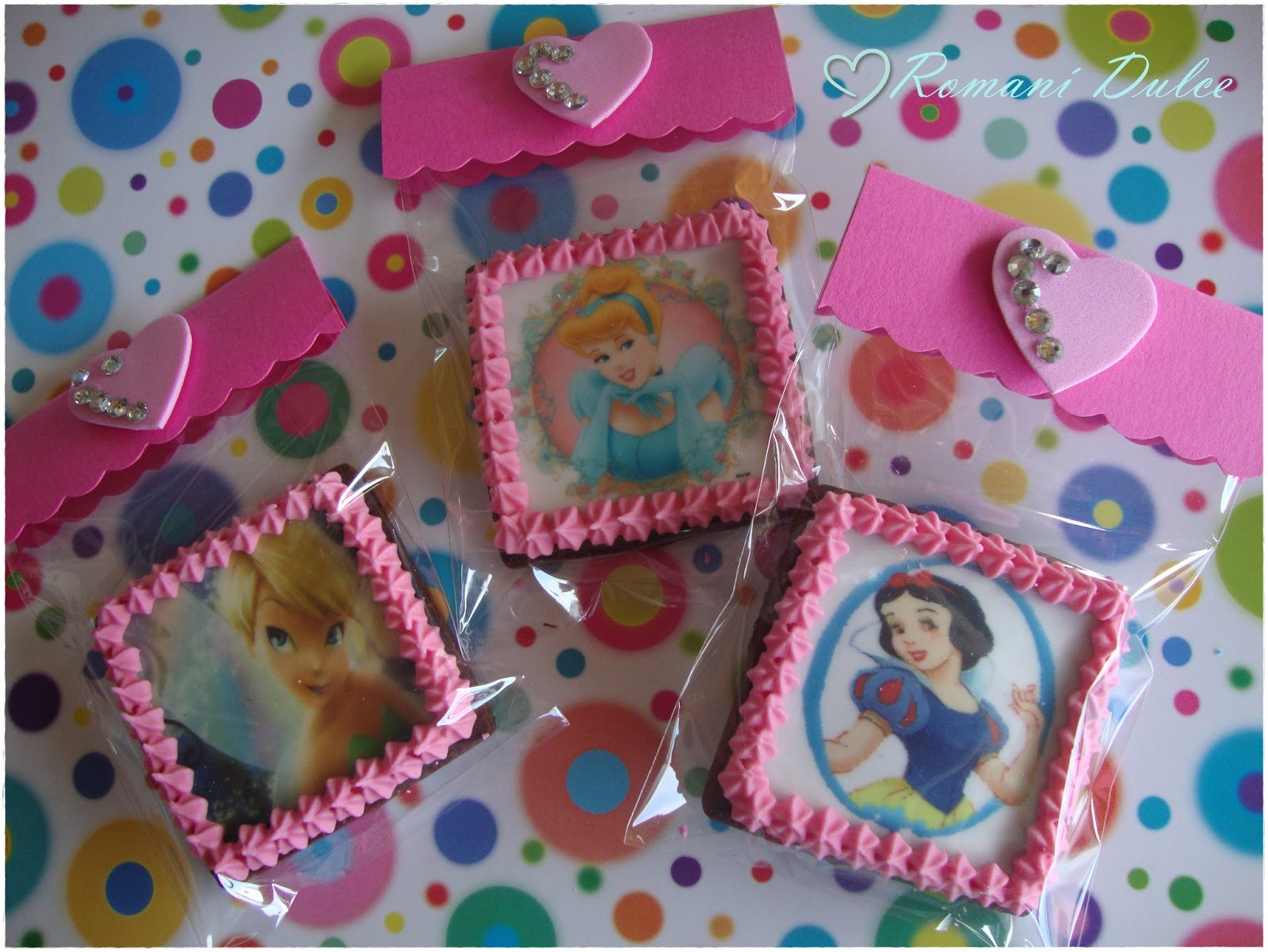 Galletas Decoradas De Princesas Romaní Obrador Pastissería Galletas Decoradas Quotprincesas