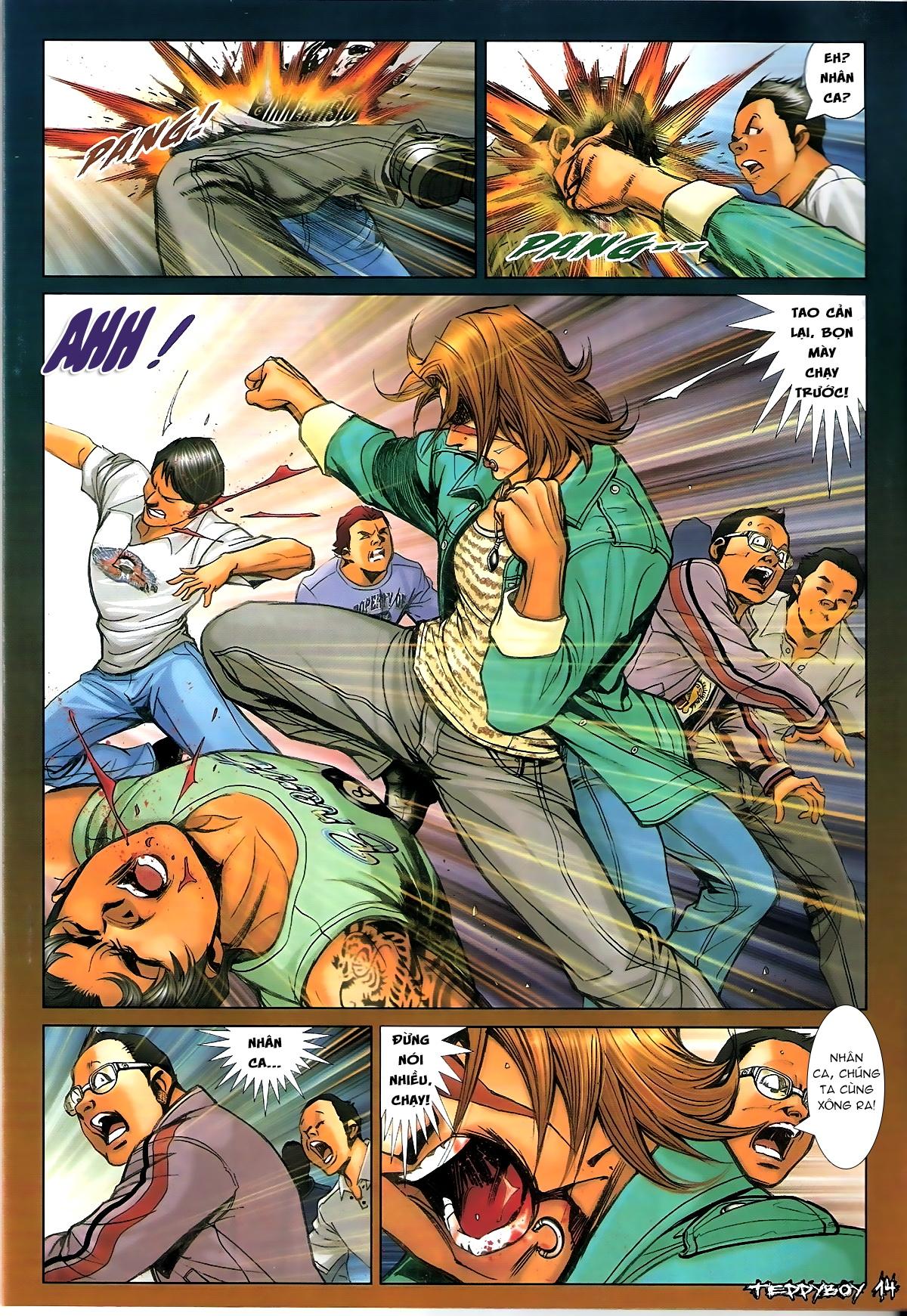 Người Trong Giang Hồ - Chapter 1335: Nam Ca chỉ chiêu - Pic 12