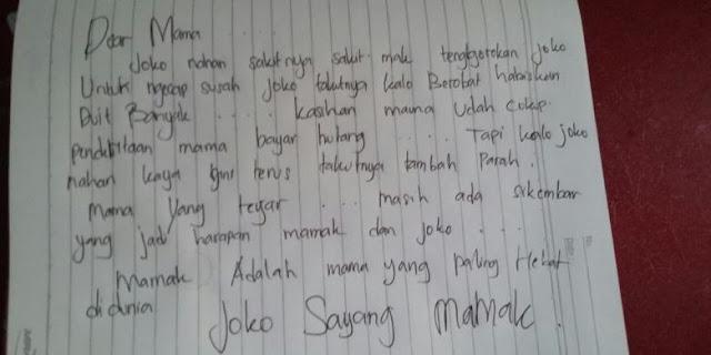 Sungguh Sedih, Remaja Ini Tulis Surat Wasiat Sangat Menyentuh Hati untuk Ibunya Sebelum Gantung Diri