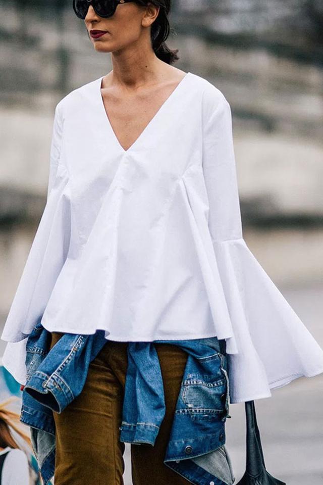blusa manga sino, blusa manga flare, como usar blusa manga sino, blog de dicas de moda, blogueira de moda em ribeirão preto, fashion blogger em ribeirão preto, digital influencer, consultoria de moda, blog camila andrade, street style