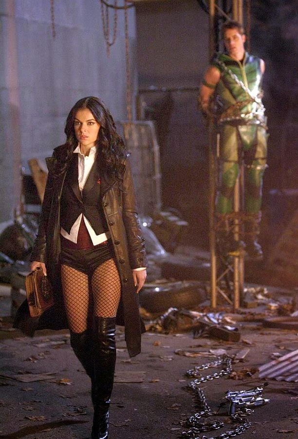 Zatanna - Smallville-green arrow