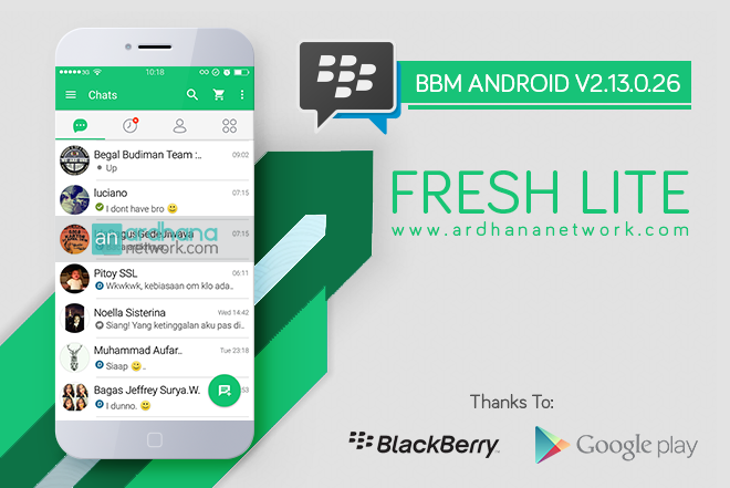 BBM Fresh Lite Version