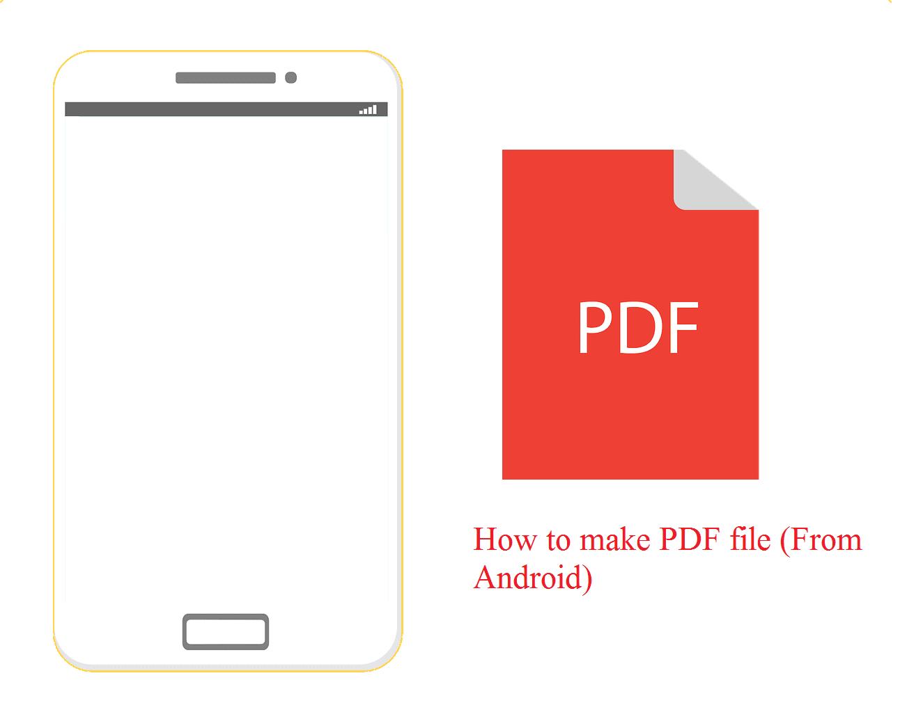 Membuat PDF di HP