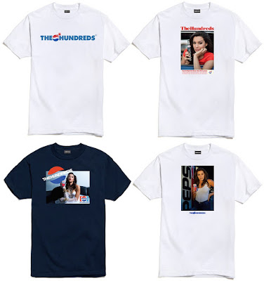 The Hundreds x Pepsi T-Shirt Collection