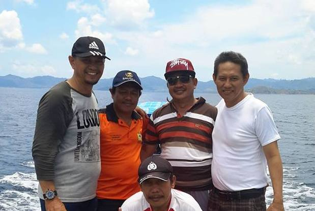 Warektor 1 Dan Dekan Fak Tehnik UTS, Nikmati Keindahan Pulau Jailamu'