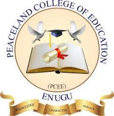 Peaceland College of Education Admission Form 2021/2022