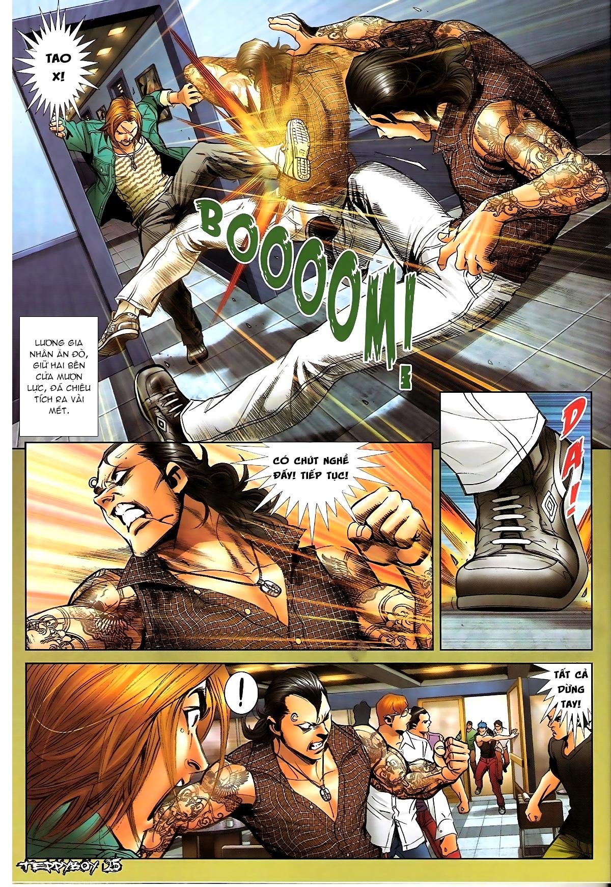 Người Trong Giang Hồ - Chapter 1329: Thằng hèn - Pic 22