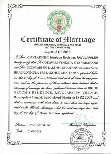 How to apply for Marriage Certificate in India: