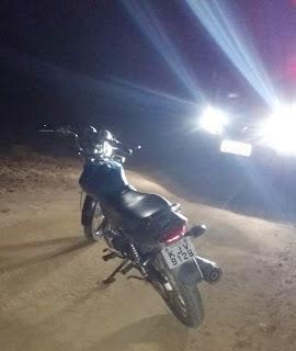 Guarnição policial de Cubati recupera na zona rural moto roubada na sede do município