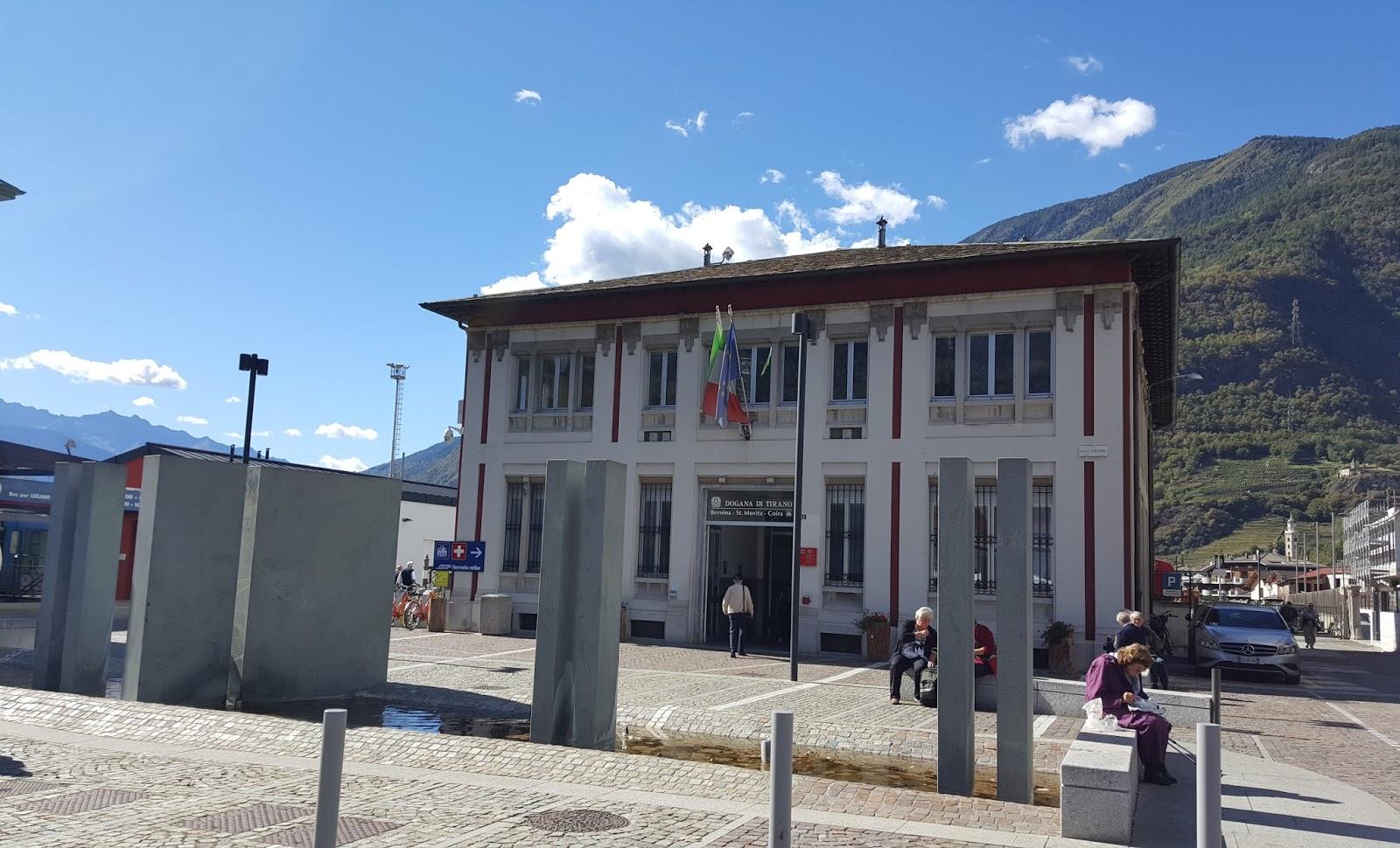 Estação de trem Bernina Express
