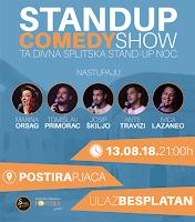 Standup Comedy Show Postira slike otok Brač Online