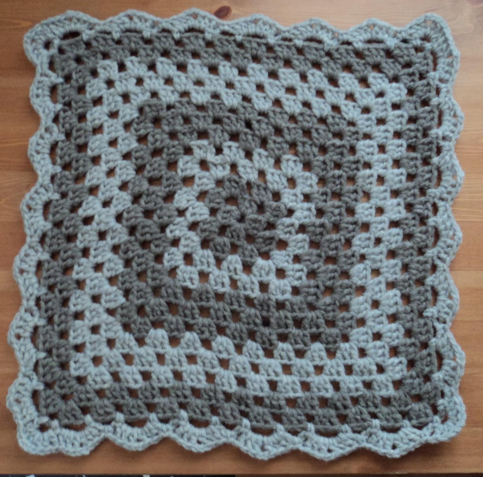 Re enganchada granny squares cuadraditos de la abuela - Cuadraditos de crochet ...