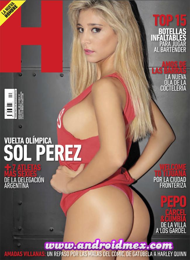 Revista Hombre Argentina Sol Perez
