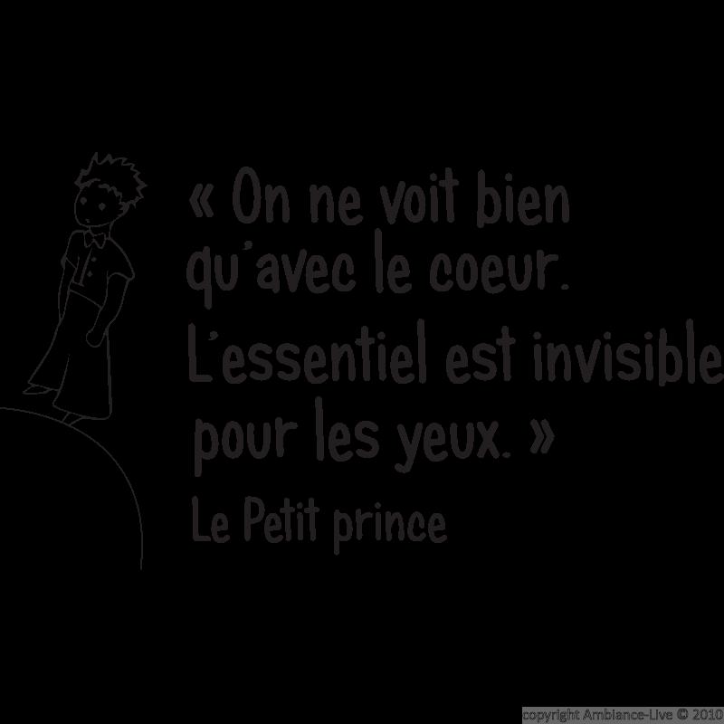 Le Petit Prince - cytat 7 - Francuski przy kawie