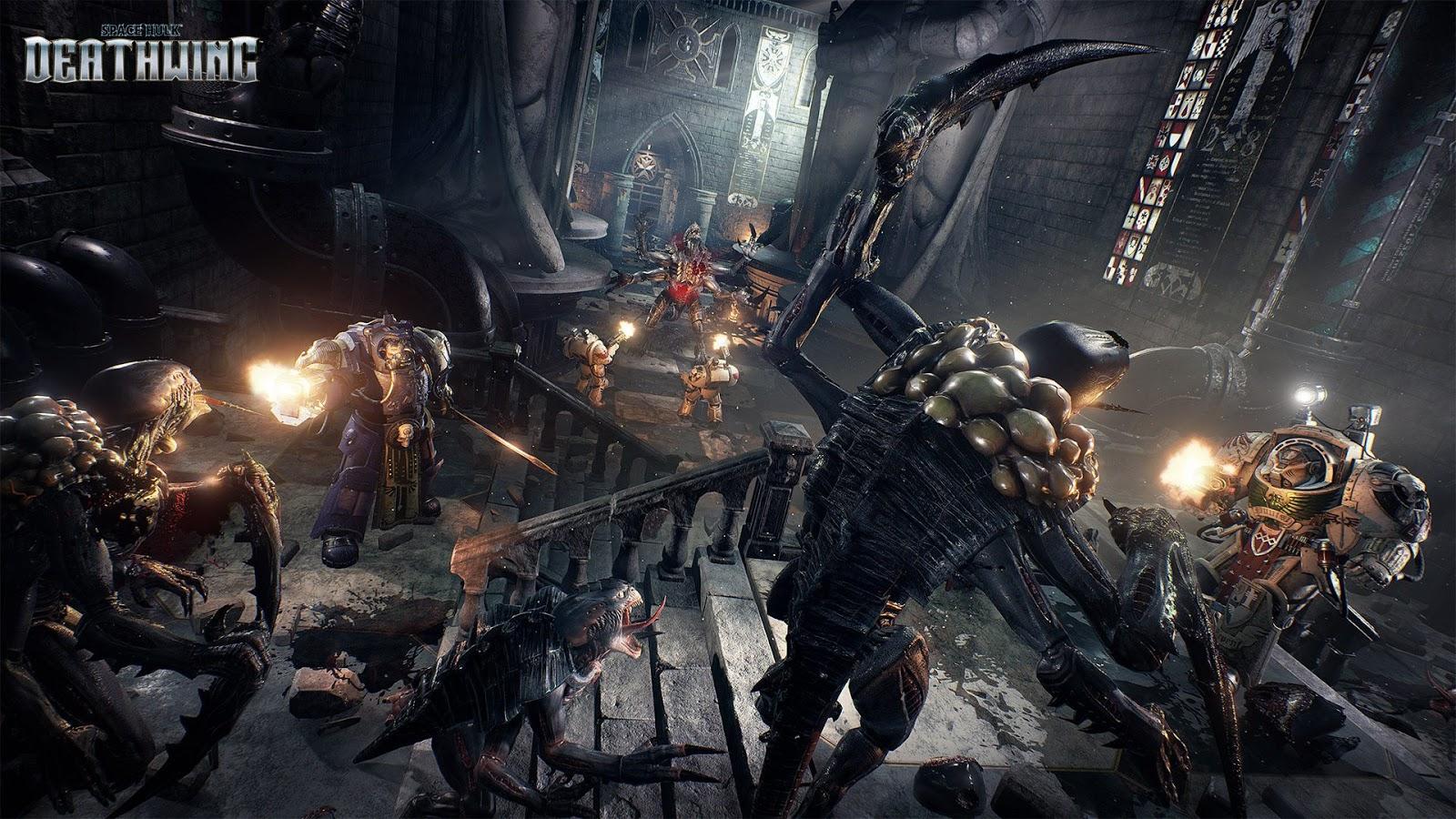 Focus Home Interactive, Space Hulk Deathwing, Space Hulk - Deathwing, Warhammer 40000, Unreal Engine 4, FPS, SciFi