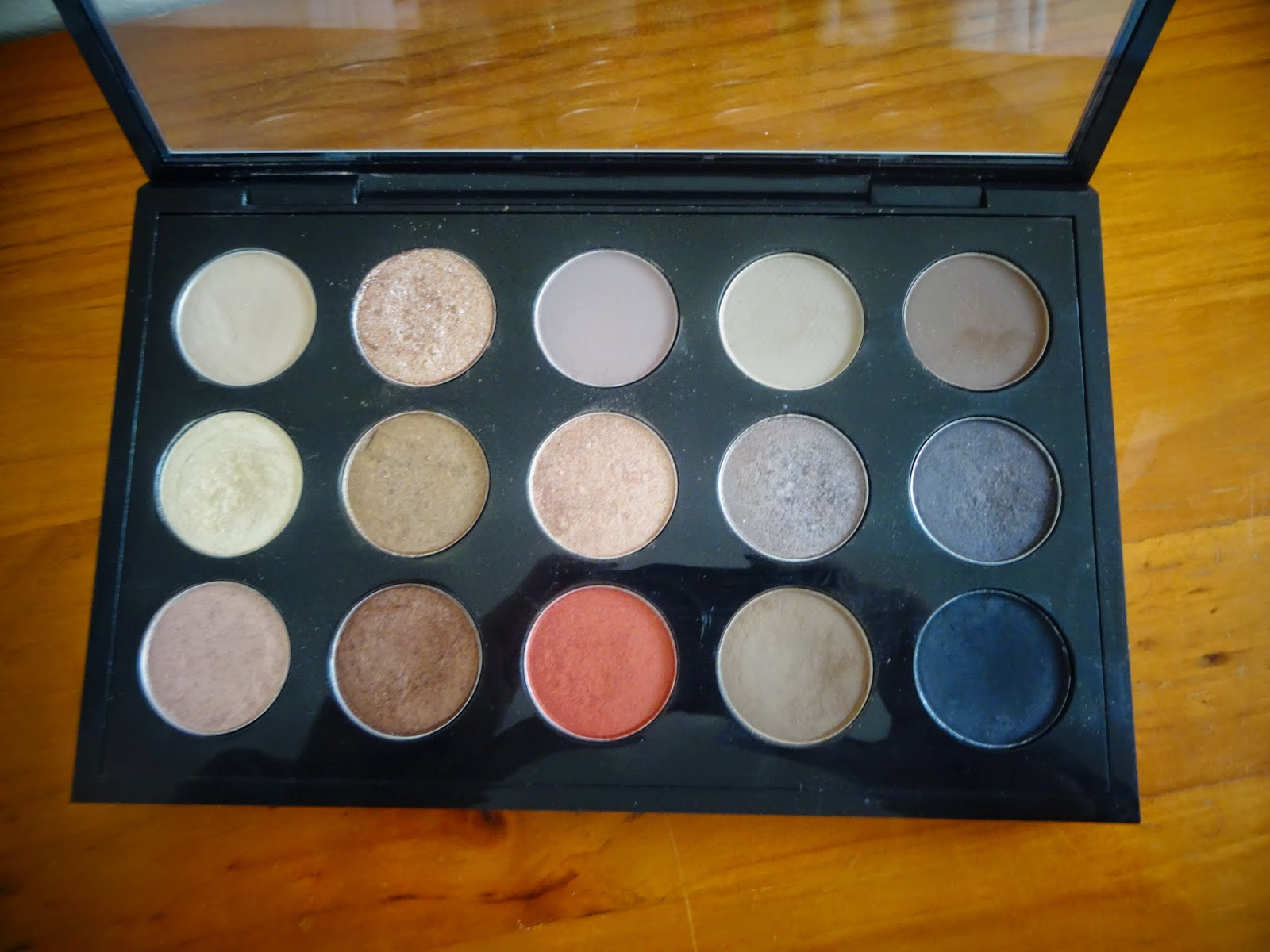 My Custom Neutral MAC Eye Shadow Palette Collection & Swatches 2