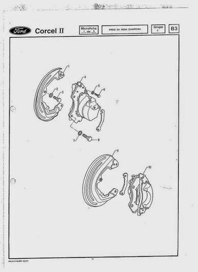 MANUAIS DO PROPRIETÁRIO: Catálogo de peças Ford Corcel II