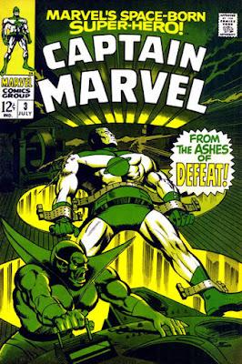 Captain Marvel #3, the Super-Skrull