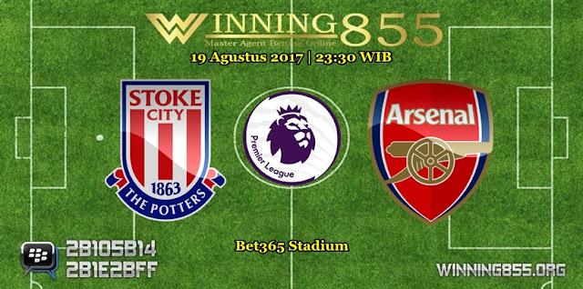 Prediksi Skor Stoke City vs Arsenal
