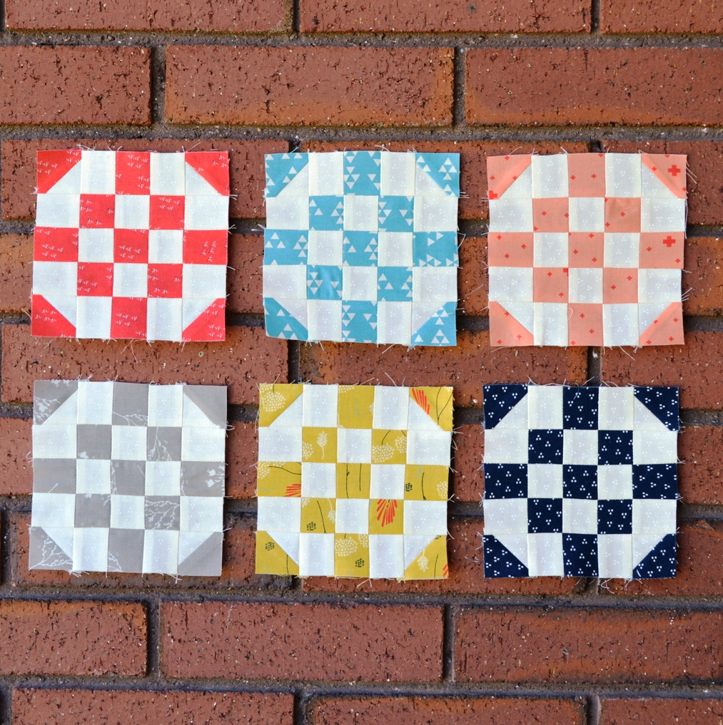 Happy Quilting Patchwork Quilt Along Round The Corner Block