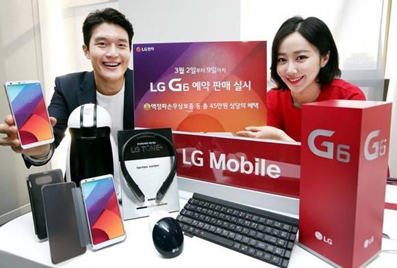 Durante a MWC 2017, o LG G6 levou mais de 30 prêmios