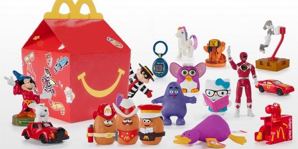 Los juguetes de los 90's vuelven al Happy Meal de McDonald's