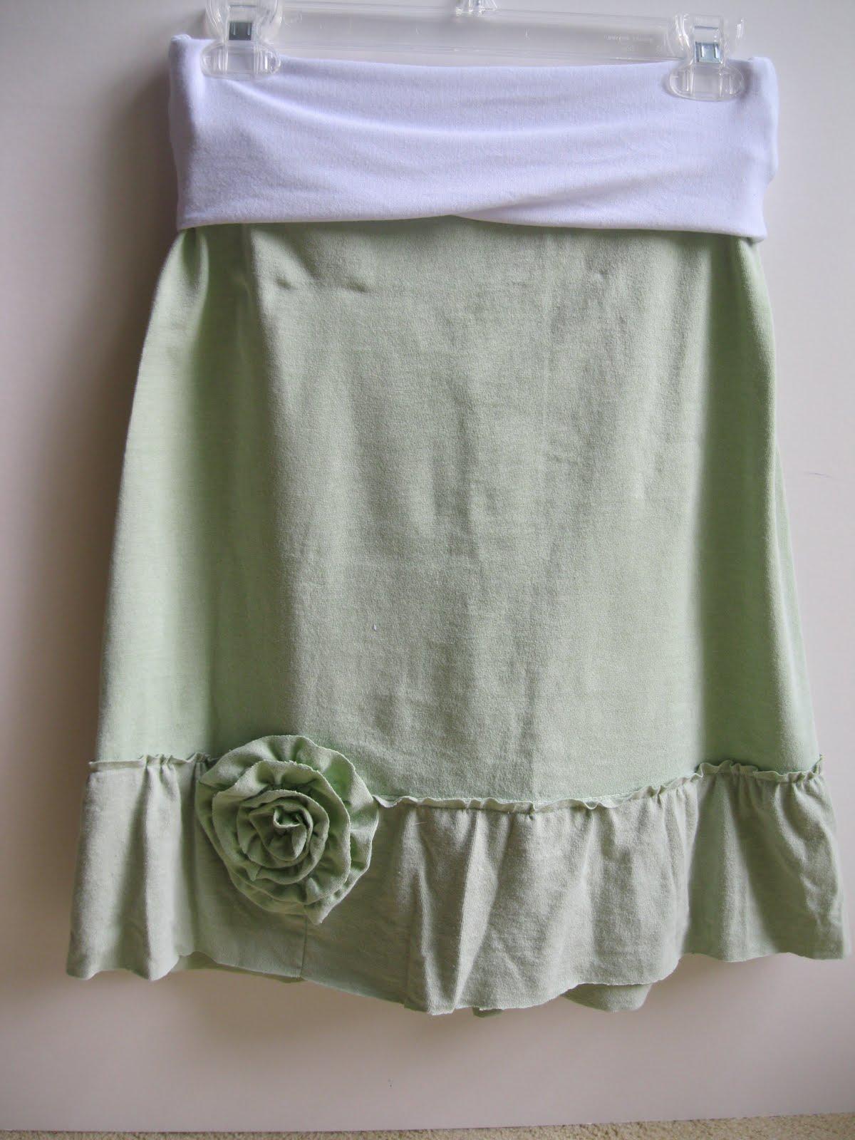 Monkey See, Monkey Do!: Ruffle T-Shirt Skirt